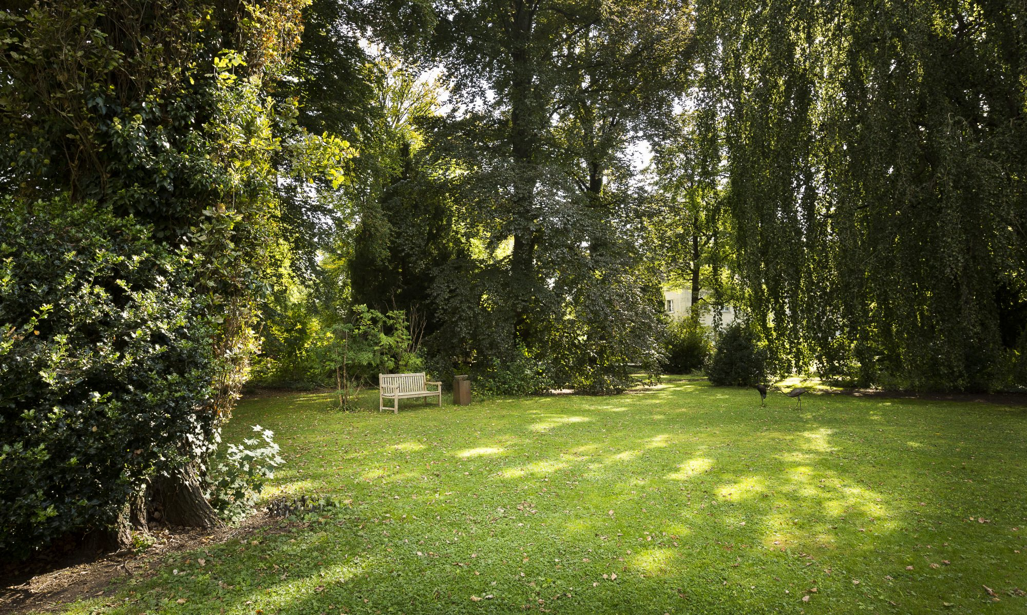Garten der Villa Jakobsbrunnen